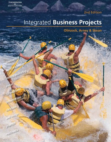 Integrated Business Projects  2nd 2005 (Revised) 9780538727617 Front Cover