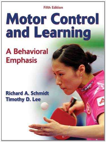 Motor Control and Learning A Behavioral Emphasis 5th 2011 edition cover