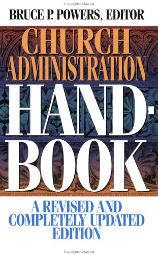 Church Administration Handbook  Revised edition cover