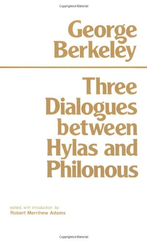 Three Dialogues Between Hylas and Philonous  N/A edition cover