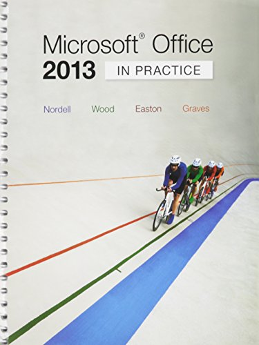 Microsoft Office 2013 + Simnet: In Practice  2015 9781259674617 Front Cover