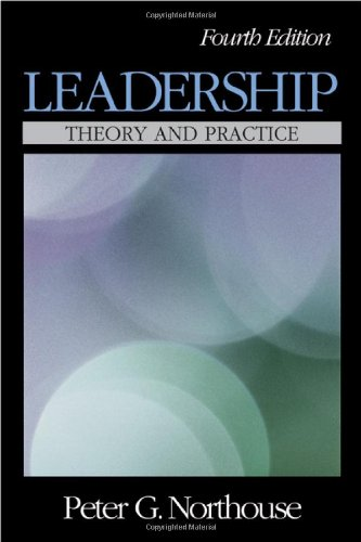 Leadership Theory and Practice 4th 2007 (Revised) edition cover