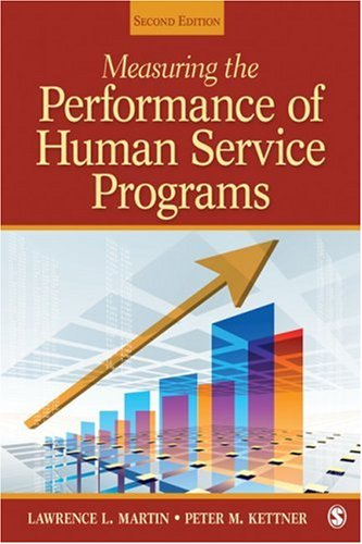 Measuring the Performance of Human Service Programs  2nd 2010 edition cover