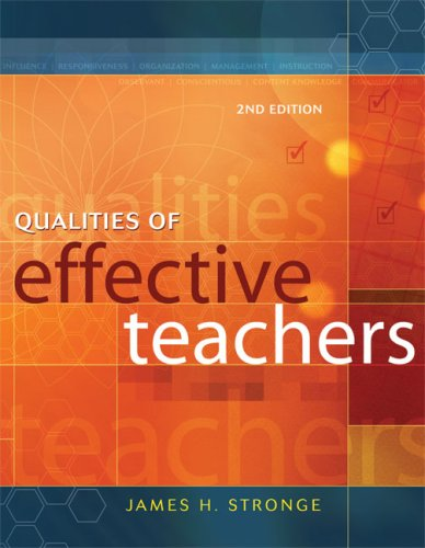 Qualities of Effective Teachers, 2nd Edition  2nd 2007 edition cover