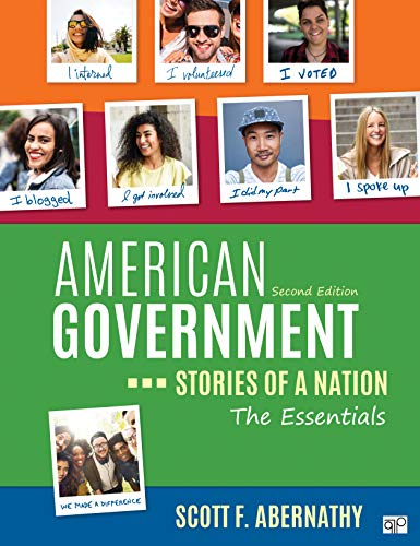 American Government Stories of a Nation, the Essentials 2nd 2020 9781544327617 Front Cover