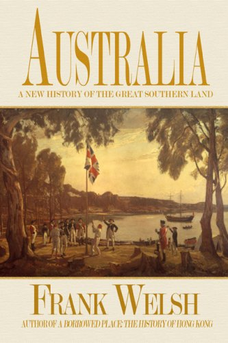 Australia A New History of the Great Southern Land  2006 edition cover