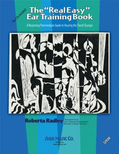 REAL EASY EAR TRINING BOOK-W/2 N/A edition cover