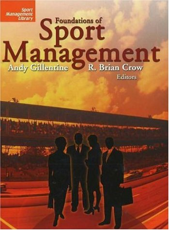 Foundations of Sport Management   2005 edition cover