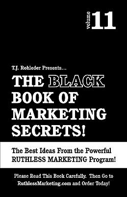 Black Book of Marketing Secrets  N/A 9781933356617 Front Cover