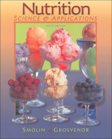 NUTRITION:SCIENCE+APPL.-W/2000 3rd 2000 edition cover
