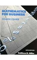 Mathematics for Business, College Course 6th 1988 edition cover