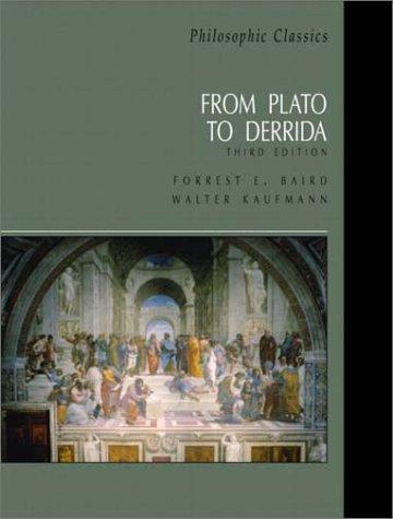 Philosophic Classics From Plato to Derrida 4th 2003 edition cover
