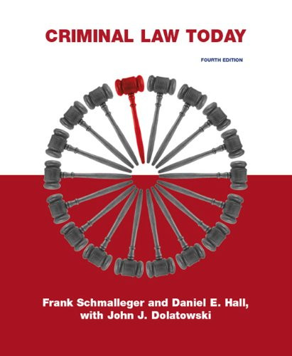 Criminal Law Today  4th 2010 edition cover