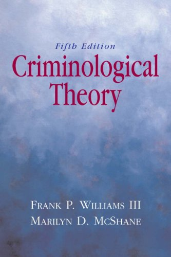 Criminological Theory  5th 2010 edition cover