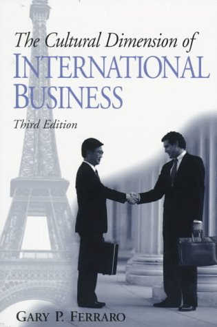 Cultural Dimension of International Business  3rd 1998 edition cover