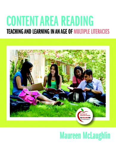 Content Area Reading Teaching and Learning in an Age of Multiple Literacies  2010 edition cover