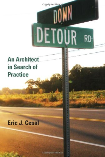 Down Detour Road An Architect in Search of Practice  2010 9780262014618 Front Cover