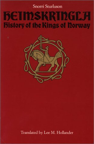 Heimskringla History of the Kings of Norway  1964 edition cover
