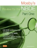 Mosby's Review for the NBDE Part I  2nd 2016 edition cover