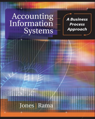 Accounting Information Systems A Business Process Approach 2nd 2006 edition cover