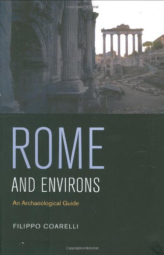 Rome and Environs An Archaeological Guide  2007 edition cover