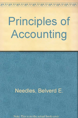 Principles of Accounting with Cd Revised and Smarthinking Plus Working Papers Volumes One and Two Ninth Edition  9th 2005 9780618754618 Front Cover