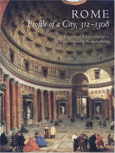 Rome Profile of a City, 312-1308  1980 (Revised) edition cover