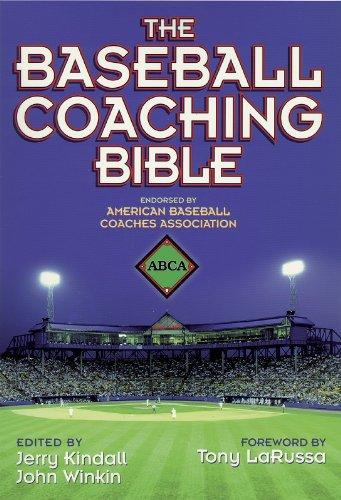 Baseball Coaching Bible   2000 edition cover