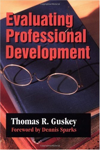 Evaluating Professional Development   2000 edition cover