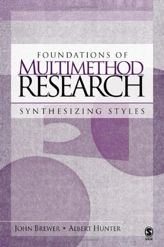 Foundations of Multimethod Research Synthesizing Styles 2nd 2006 edition cover