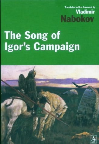 Song of Igor's Campaign  Reprint  edition cover