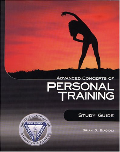 Advanced Concepts of Personal Training Study Guide N/A edition cover