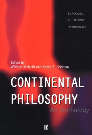 Continental Philosophy An Anthology  1998 edition cover