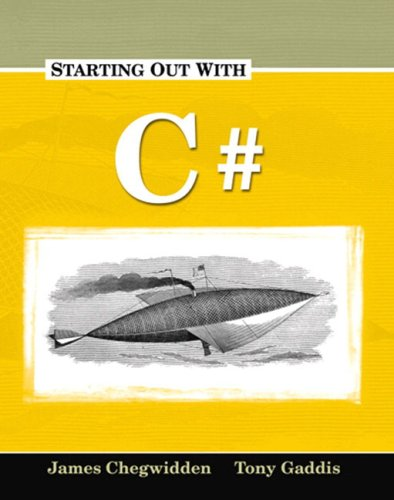 Starting Out with C#   2005 9781576761618 Front Cover