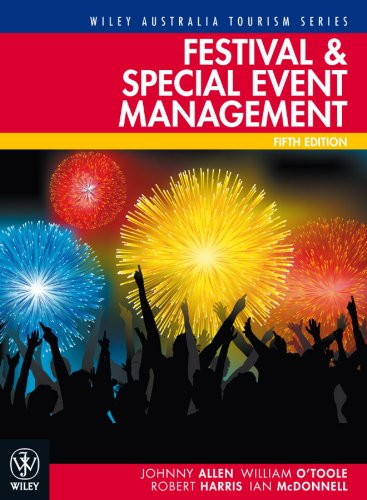 Festival and Special Event Management  5th 2010 edition cover