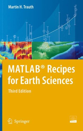 MATLAB� Recipes for Earth Sciences  3rd 2010 edition cover