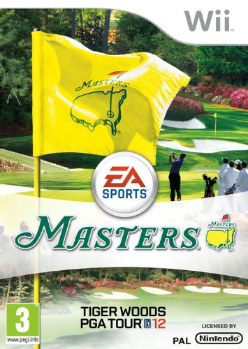 Tiger Woods Pga Tour 12 : The Masters (Wii) Nintendo Wii artwork