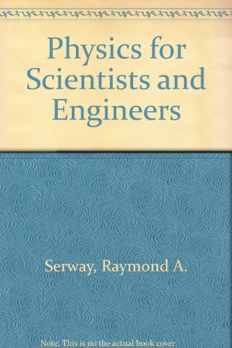 Physics for Scientists and Engineers:   1999 edition cover