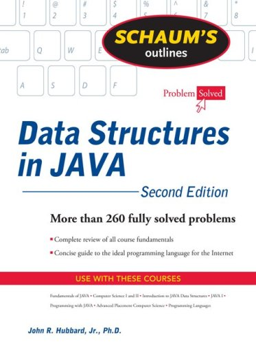 Data Structures with Java  2nd 2009 edition cover