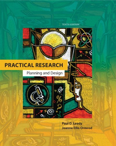 Practical Research Planning and Design 10th 2013 edition cover
