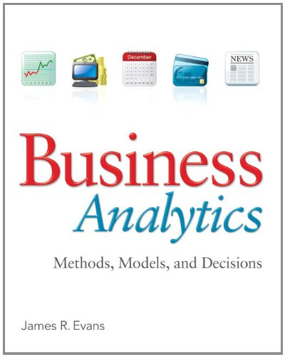 Business Analytics   2013 edition cover