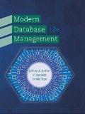 Modern Database Management:   2015 9780133544619 Front Cover