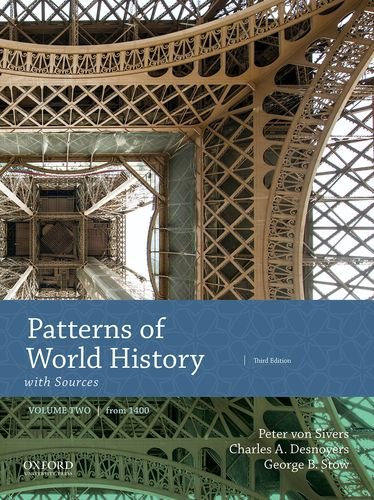 Cover art for Patterns of World History, Volume Two: From 1400 with Sources, 3rd Edition