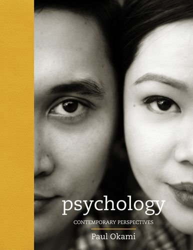 Psychology Contemporary Perspectives N/A edition cover
