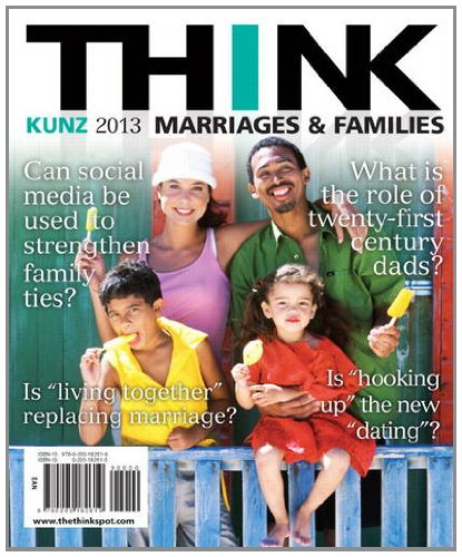THINK Marriages and Families  2nd 2013 (Revised) edition cover