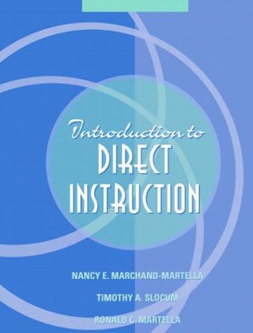 Introduction to Direct Instruction   2004 edition cover