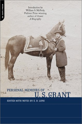Personal Memoirs of U. S. Grant   2001 9780306810619 Front Cover