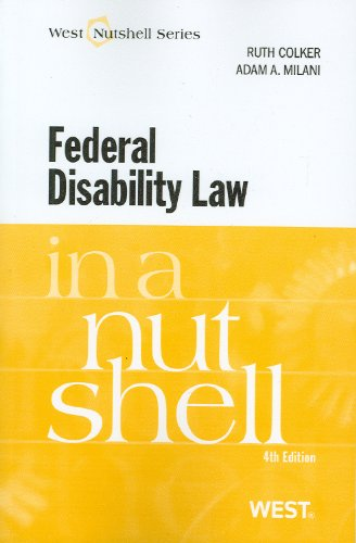 Federal Disability Law  4th 2010 (Revised) edition cover