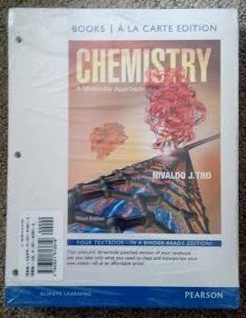 Chemistry A Molecular Approach 3rd 2014 9780321813619 Front Cover
