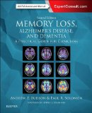 Memory Loss, Alzheimer's Disease, and Dementia A Practical Guide for Clinicians 2nd 2015 edition cover